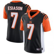 Wholesale Cheap Nike Bengals #7 Boomer Esiason Black Team Color Youth Stitched NFL Vapor Untouchable Limited Jersey
