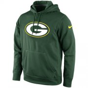 Wholesale Cheap Green Bay Packers Nike KO Logo Essential Hoodie Green