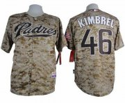 Wholesale Cheap Padres #46 Craig Kimbrel Camo Alternate 2 Cool Base Stitched MLB Jersey
