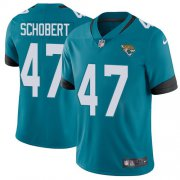 Wholesale Cheap Nike Jaguars #47 Joe Schobert Teal Green Alternate Youth Stitched NFL Vapor Untouchable Limited Jersey