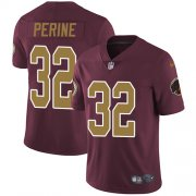 Wholesale Cheap Nike Redskins #32 Samaje Perine Burgundy Red Alternate Youth Stitched NFL Vapor Untouchable Limited Jersey