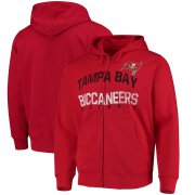 Wholesale Cheap Tampa Bay Buccaneers G-III Sports by Carl Banks Post Season Full-Zip Hooded Sweatshirt Red