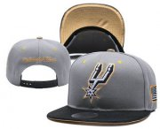 Wholesale Cheap San Antonio Spurs Snapback Ajustable Cap Hat YD 3