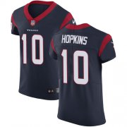 Wholesale Cheap Nike Texans #10 DeAndre Hopkins Navy Blue Team Color Men's Stitched NFL Vapor Untouchable Elite Jersey