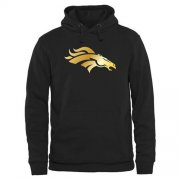 Wholesale Cheap Men's Denver Broncos Pro Line Black Gold Collection Pullover Hoodie