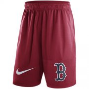 Wholesale Cheap Men's Boston Red Sox Nike Red Dry Fly Shorts