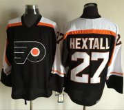 Wholesale Flyers #27 Ron Hextall Black CCM Throwback Stitched NHL Jersey