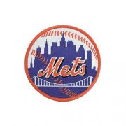 Wholesale Cheap Stitched New York Mets Home Sleeve Patch (Orange Border)