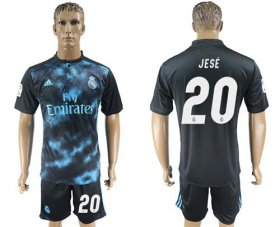 Wholesale Cheap Real Madrid #20 Jese Away Soccer Club Jersey