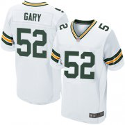 Wholesale Cheap Nike Packers #52 Rashan Gary White Men's Stitched NFL Elite Jersey