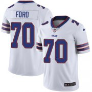 Wholesale Cheap Nike Bills #70 Cody Ford White Men's Stitched NFL Vapor Untouchable Limited Jersey