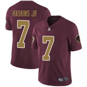 Wholesale Cheap Nike Redskins #7 Dwayne Haskins Jr Burgundy Red Alternate Youth Stitched NFL Vapor Untouchable Limited Jersey