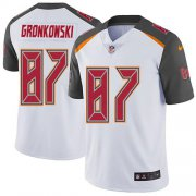 Wholesale Cheap Nike Buccaneers #87 Rob Gronkowski White Men's Stitched NFL Vapor Untouchable Limited Jersey