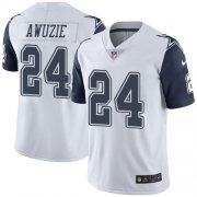 Wholesale Cheap Nike Cowboys #24 Chidobe Awuzie White Men's Stitched NFL Limited Rush Jersey