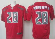 Wholesale Cheap Nike Buccaneers #28 Vernon Hargreaves III Red Men's Stitched NFL Elite Rush Jersey