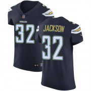 Wholesale Cheap Nike Chargers #32 Justin Jackson Navy Blue Team Color Men's Stitched NFL Vapor Untouchable Elite Jersey