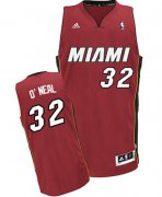 Wholesale Cheap Miami Heat Blank #32 Shaquille O'neal Red Swingman Jersey