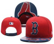 Wholesale Cheap Boston Red Sox Snapback Ajustable Cap Hat YD