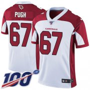 Wholesale Cheap Nike Cardinals #67 Justin Pugh White Men's Stitched NFL 100th Season Vapor Limited Jersey