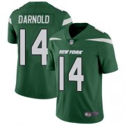 Wholesale Cheap Nike Jets #14 Sam Darnold Green Team Color Youth Stitched NFL Vapor Untouchable Limited Jersey