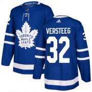 Wholesale Cheap Adidas Maple Leafs #32 Kris Versteeg Blue Home Authentic Stitched NHL Jersey
