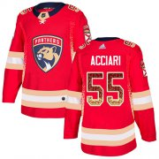 Wholesale Cheap Adidas Panthers #55 Noel Acciari Red Home Authentic Drift Fashion Stitched NHL Jersey