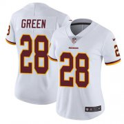 Wholesale Cheap Nike Redskins #28 Darrell Green White Women's Stitched NFL Vapor Untouchable Limited Jersey