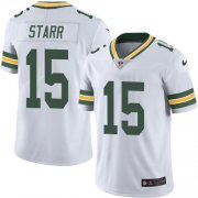 Wholesale Cheap Nike Packers #15 Bart Starr White Men's Stitched NFL Vapor Untouchable Limited Jersey