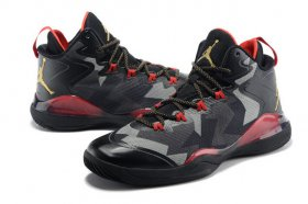 Wholesale Cheap JORDAN SUPER FLY Shoes Black/red