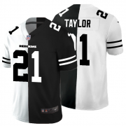 Cheap Washington Redskins #21 Sean Taylor Men's Black V White Peace Split Nike Vapor Untouchable Limited NFL Jersey