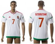 Wholesale Cheap Hungary #7 Dzsudzsak Away Soccer Country Jersey