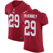 Wholesale Cheap Nike Giants #29 Xavier McKinney Red Alternate Men's Stitched NFL New Elite Jersey