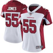 Wholesale Cheap Nike Cardinals #55 Chandler Jones White Women's Stitched NFL Vapor Untouchable Limited Jersey