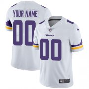 Wholesale Cheap Nike Minnesota Vikings Customized White Stitched Vapor Untouchable Limited Youth NFL Jersey