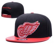 Wholesale Cheap NHL Detroit Red Wings Stitched Snapback Hats 002