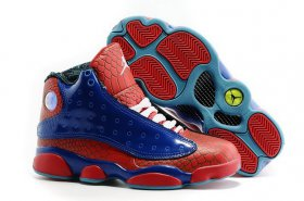 Wholesale Cheap Womens Jordan 13 Spider Man Red/blue-white