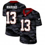 Cheap Miami Dolphins #13 Dan Marino Men's Nike 2020 Black CAMO Vapor Untouchable Limited Stitched NFL Jersey
