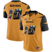 Wholesale Cheap Missouri Tigers 10 Kentrell Brothers Gold Nike Fashion College Football Jersey