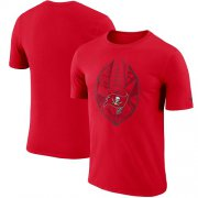 Wholesale Cheap Men's Tampa Bay Buccaneers Nike Red Fan Gear Icon Performance T-Shirt