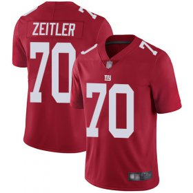 Wholesale Cheap Nike Giants #70 Kevin Zeitler Red Alternate Men\'s Stitched NFL Vapor Untouchable Limited Jersey