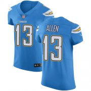 Wholesale Cheap Nike Chargers #13 Keenan Allen Electric Blue Alternate Men's Stitched NFL Vapor Untouchable Elite Jersey