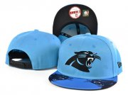 Wholesale Cheap Panthers Team Logo Blue Adjustable Hat SF