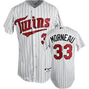 Wholesale Cheap Twins #33 Justin Morneau Stitched White(Blue Strip) Cool Base Youth MLB Jersey