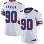 Wholesale Cheap Nike Bills #90 Shaq Lawson White Youth Stitched NFL Vapor Untouchable Limited Jersey