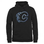 Wholesale Cheap Calgary Flames Rinkside Pond Hockey Pullover Hoodie Black