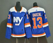Wholesale Cheap Youth New York Islanders #13 Mathew Barzal New Blue Home 2019 Hockey Adidas Stitched NHL Jersey