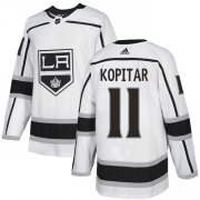 Wholesale Cheap Adidas Kings #11 Anze Kopitar White Road Authentic Stitched Youth NHL Jersey