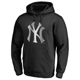 Wholesale Cheap New York Yankees Platinum Collection Pullover Hoodie Black
