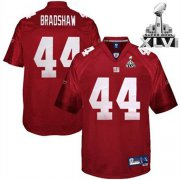 Wholesale Giants #44 Ahmad Bradshaw Red Super Bowl XLVI Embroidered NFL Jersey