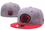 Wholesale Cheap San Francisco 49ers fitted hats08